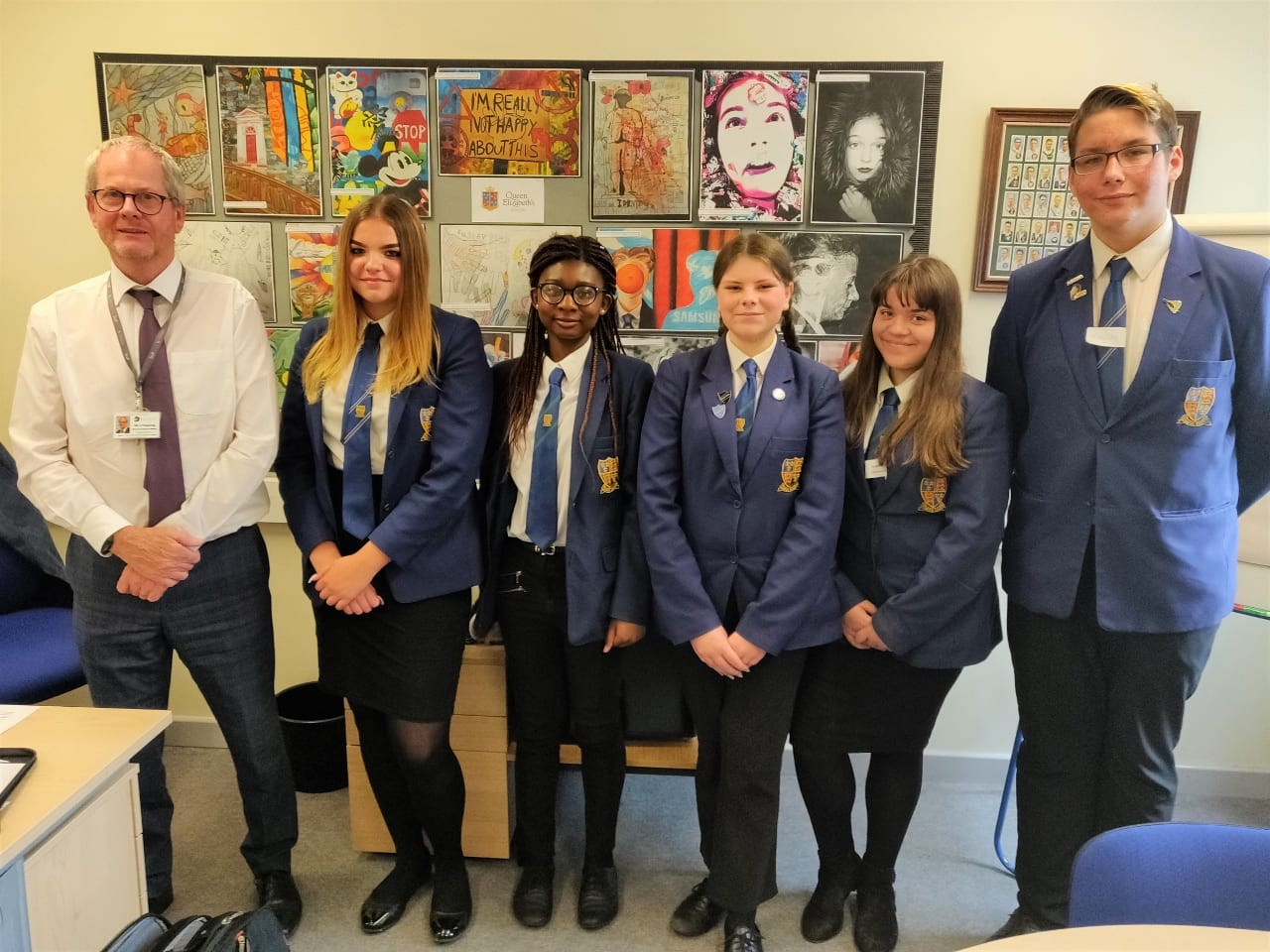 Students visit Diverse Academies headquarters