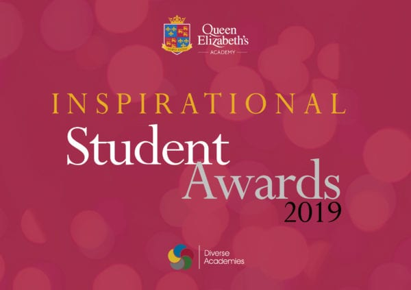Sponsorship opportunity for our student awards - Queen Elizabeth's