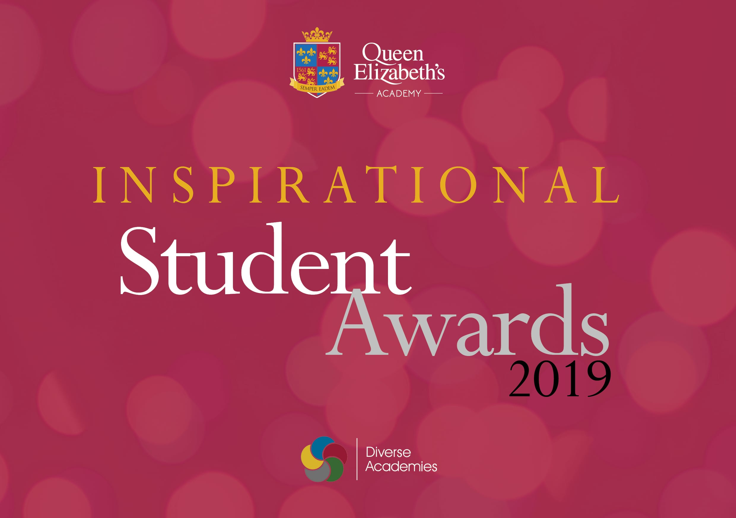 Sponsorship opportunity for our student awards