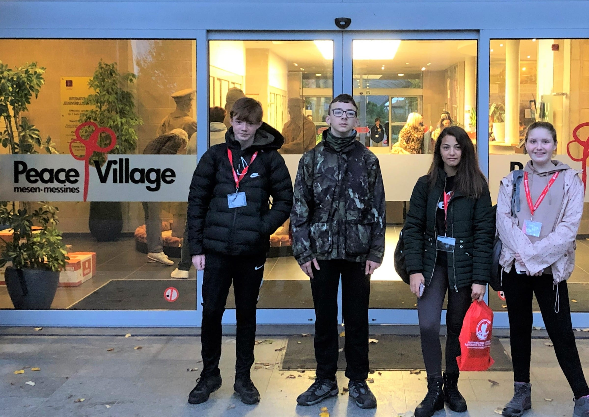 Students experience Battlefields as part of WW1 project