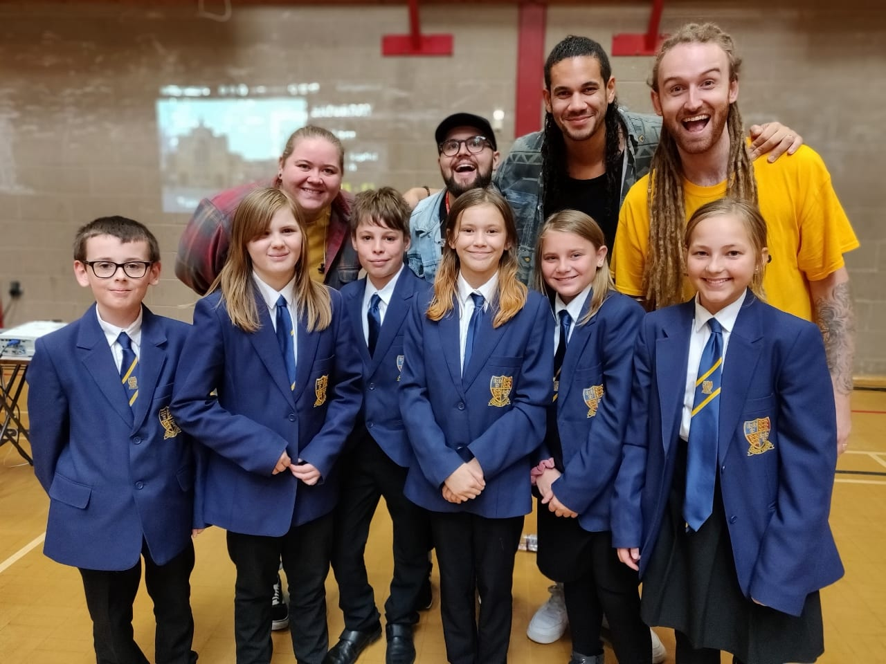 Music and faith collide as Brightline entertain our students