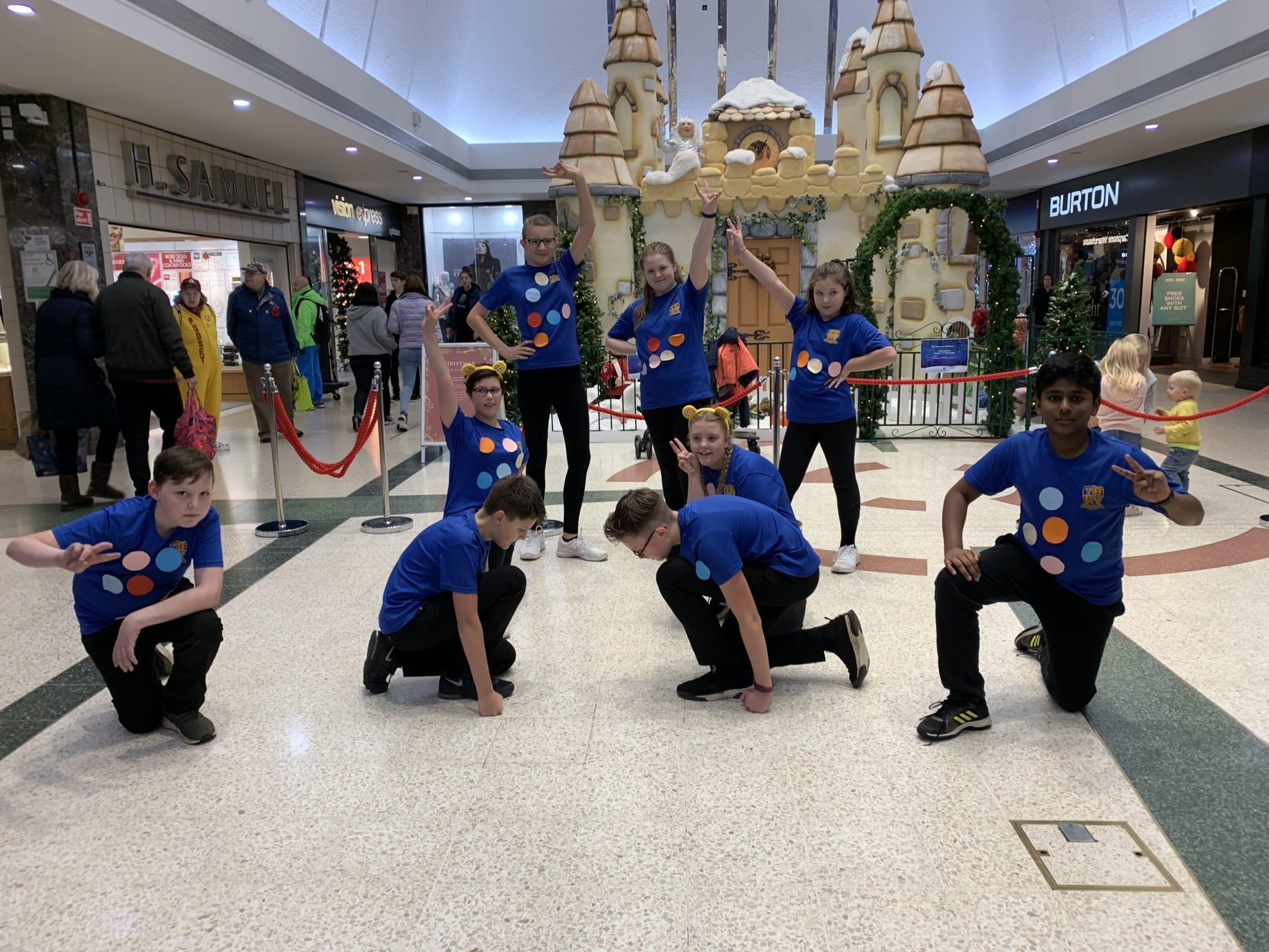 'Dance Dash' for BBC Children in Need