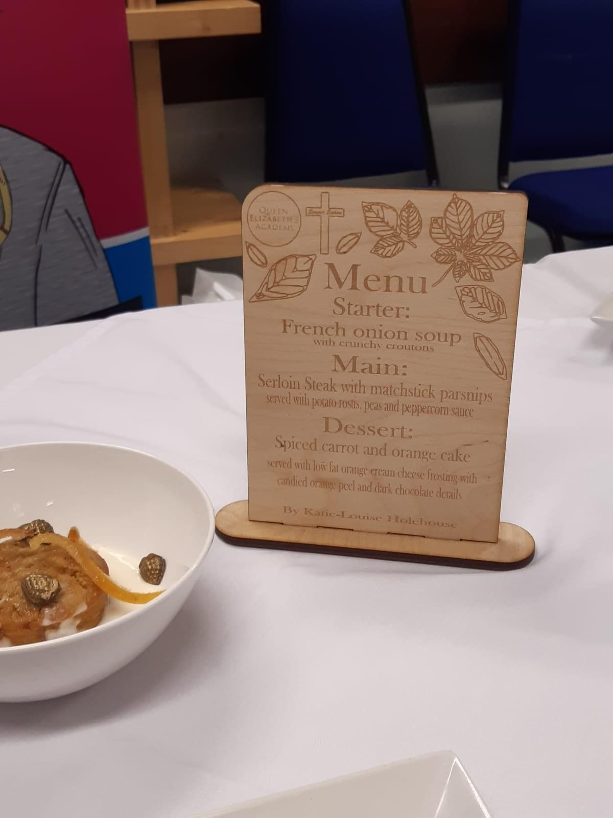 Budding young chefs take part in Rotary Club competition