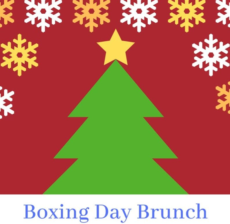Boxing Day Brunch – open to all the community