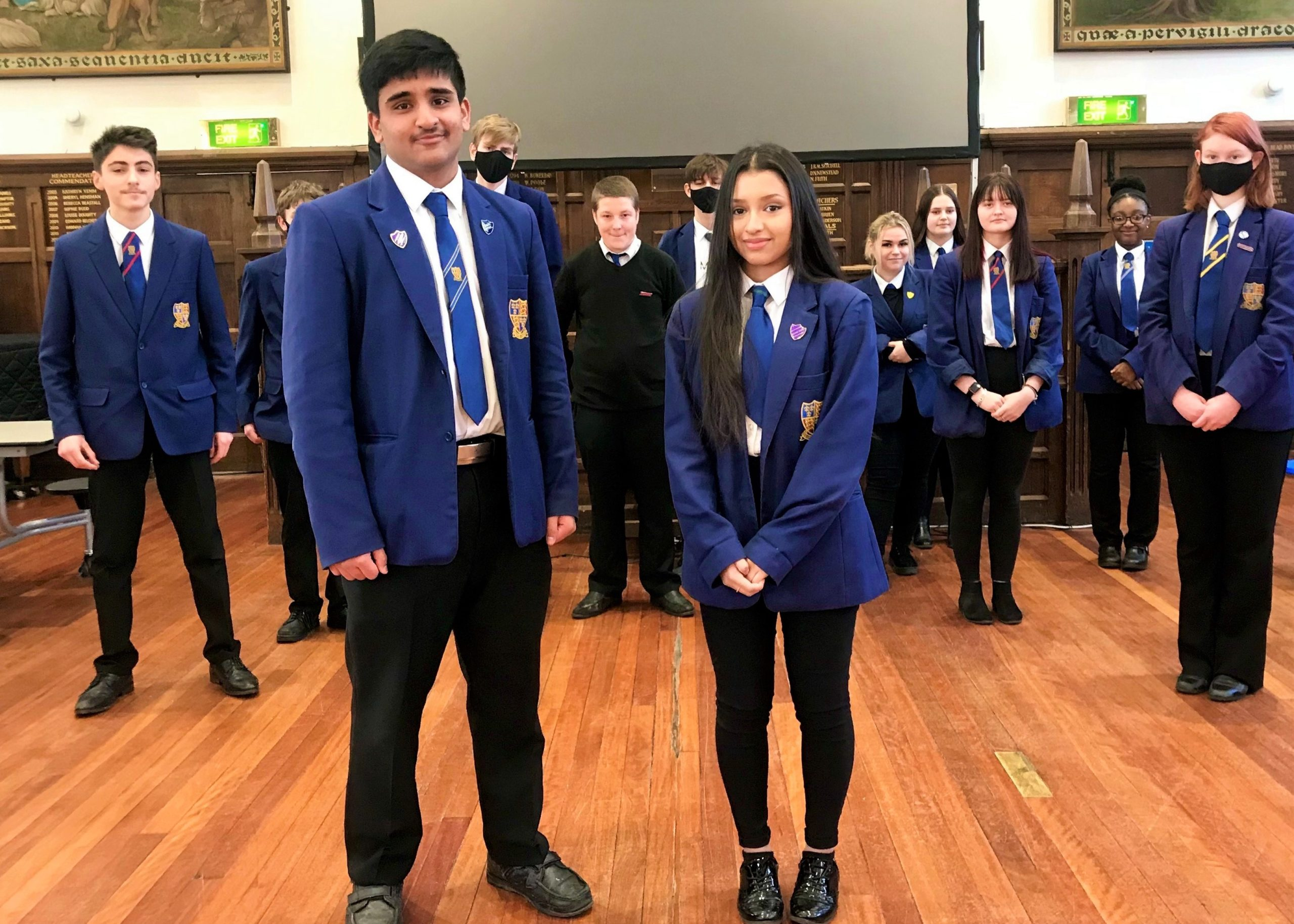 New head boy and head girl elected
